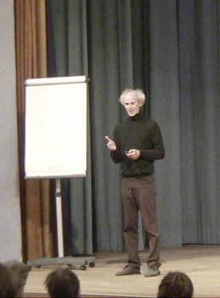 Vortrag in Hamburg – Aufbau der Aetherkraefte